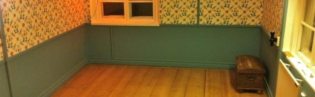 Sovrummet renoverat