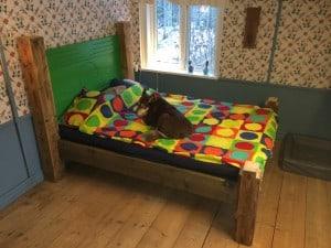 Jag är inte ensam om att uppskatta den nya sängen.