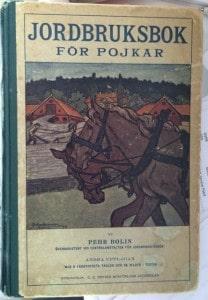 Jordbruksbok för pojkar av Pehr Bolin