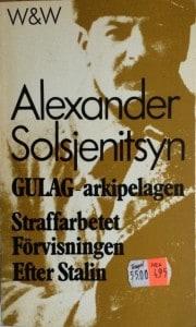 Första tre delarna av Gulag-akipelagen tog jag en gång med mig på en semesterresa till Rhodos. Kom igenom 700 sidor, men känner mig fortfarande mätt – trots att det gått 30 år.