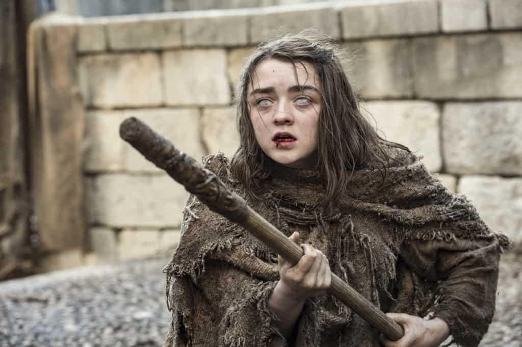 Hur ska det går för Arya Stark efter det hon råkade ut för i sista avsnittet förra säsongen av Game of Thrones? Bild: HBO Nordic