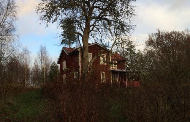När man går tillbaka och försöker hitta gårdens historia så är det inte helt enkelt att känna igen den på gamla bilder. Mycket har förändrats och byggts om och växtligheten ser helt annorlunda ut. Och tittar man på gamla bilder ser de flesta gamla hus nästan likadana ut.