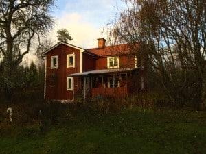 Men på den här bilden känner man igen delar av huset från bilden på Stockholmare med bagge.