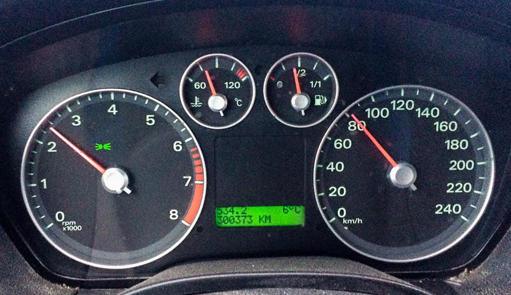 30 plus – sant om min bil men hårdvinklat om det gäller mig. Ändå blir bilen förhoppningsvis skrotad först.