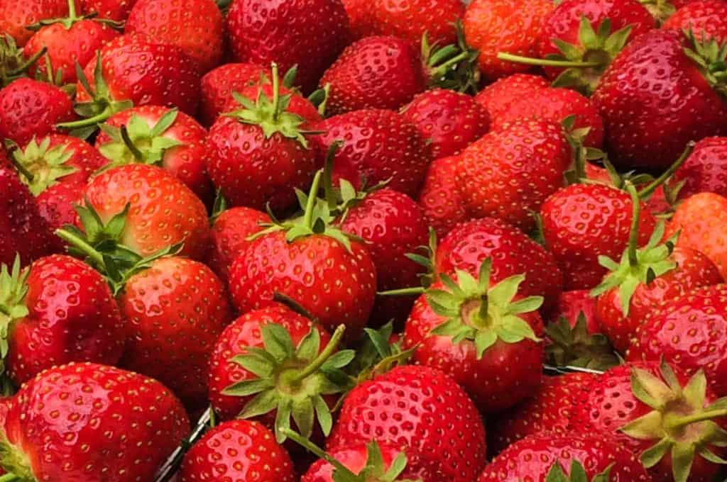 De kanske ser goda ut – men när det gäller besprutning litar jag mer på gubbar från en svensk namngiven odlare än jordgubbar med okänt ursprung.