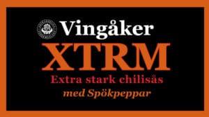 Min chilisås Vingåker XTRM är gjord med Naga Jolokia – en av världens starkaste chilisorter.
