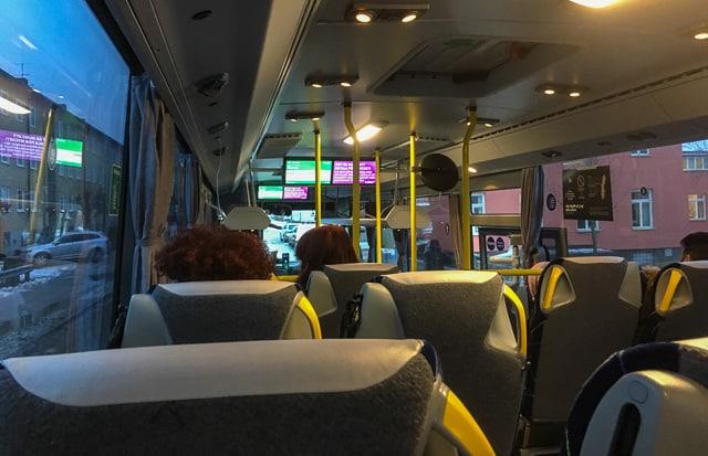 Min första bussresa med Sörmlandstrafiken gick utan missöden. När bussarna går och det finns hållplatser fungerar det bra.