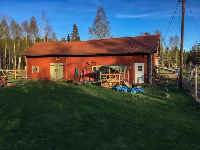 Min ladugård hade står på samma ställe i över 150 år. På någon timme var den borta.